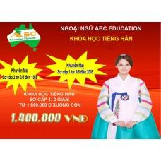 Chương trình  khuyến mại Khóa học Tiếng Hàn Sơ Cấp 1 -2