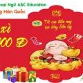 """Chương trình khuyến mại """"LÌ XÌ ĐẦU XUÂN"""" của ABC Education"""