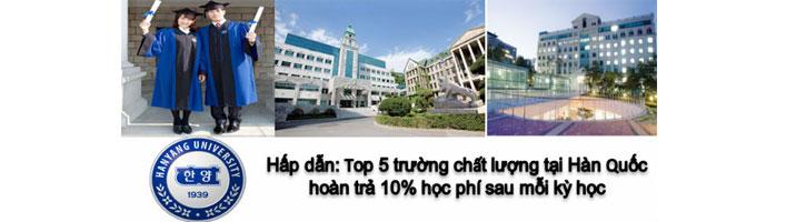 Top 5 trƯỜng đại học hàn quốc